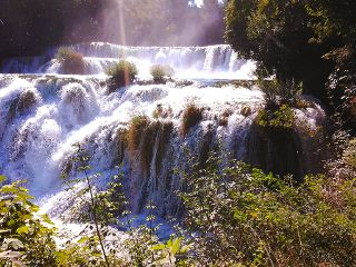 waterday waterfall croatia