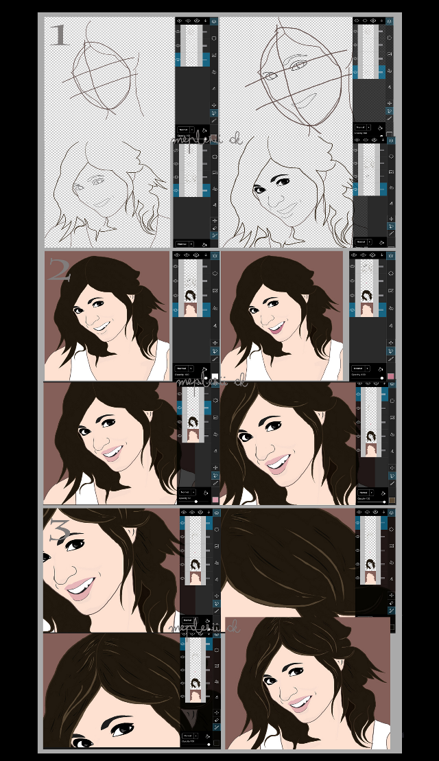 Drawing @misspisky ...step by step With Pa tool 100% hope this will be useful  #stepbystep #drawing #friend #quicktip #misspisky
