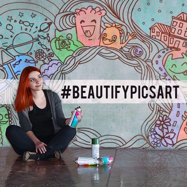 picsArt Walls decorating contest