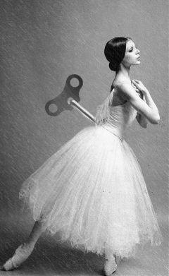 ballet ballerina photography blackandwhite rain