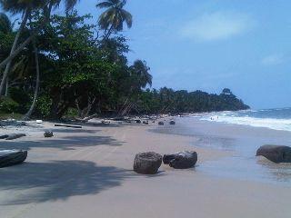 gabon beach ocean