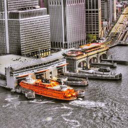 ferry highangle