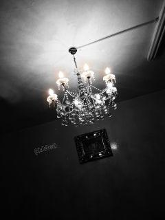 geometry bnw livingroom lights gathering