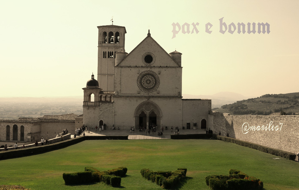 Assisi  Italy   #words #faith #travel #architecture #emotions #church
