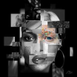 gdphotostrips woman art