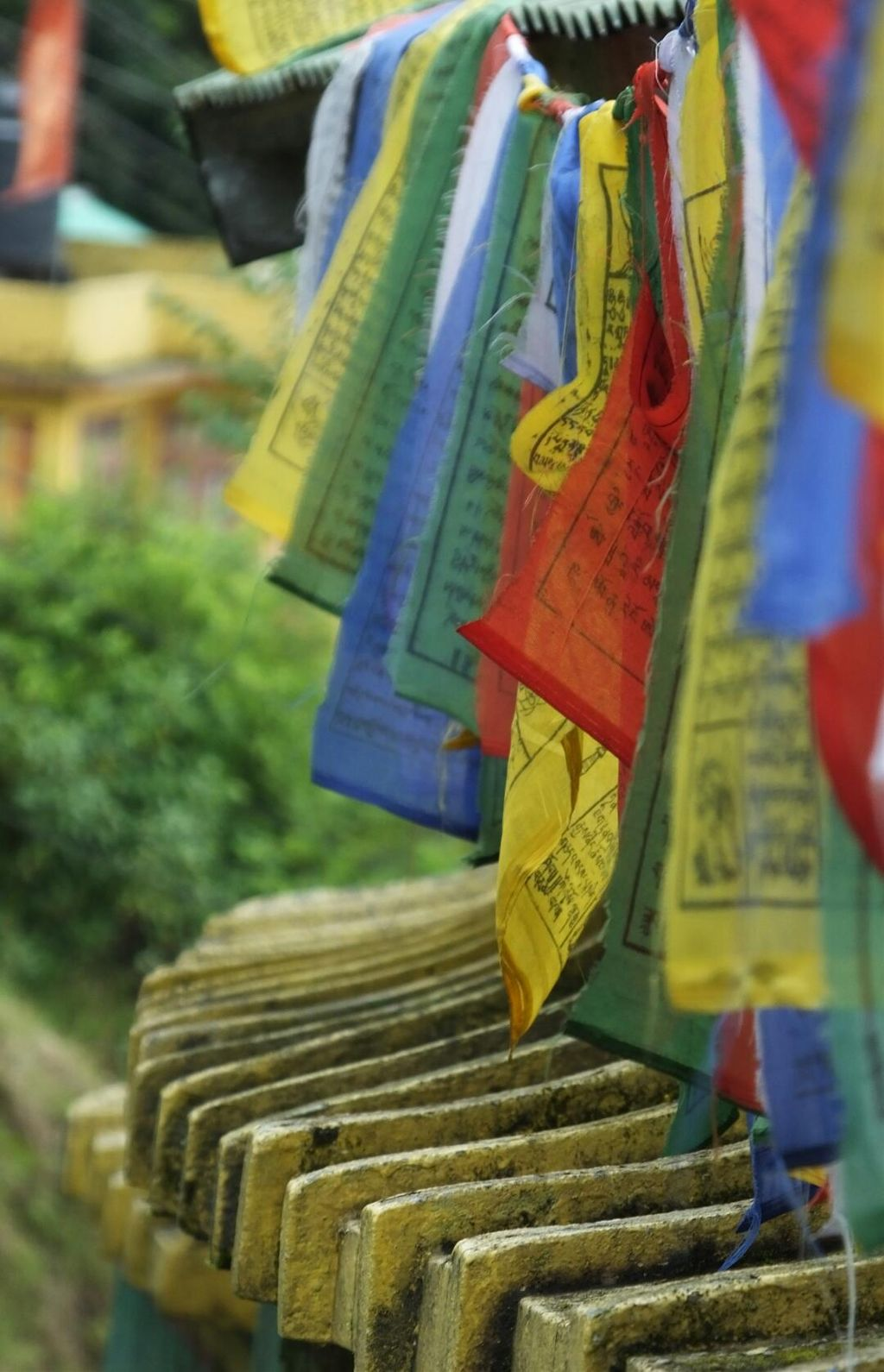 #prayer #flags #colorful #colorsplash #travel  #photography #monastery