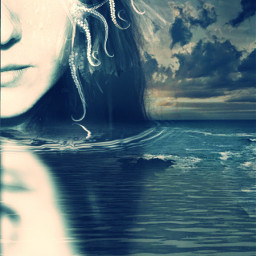 fantasy artisticselfie artistic undefined epic layers mermaids