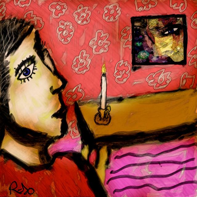 Hallelujah / Jeff buckley  #refugees #PicsArt #drawing #art #colourful #rojo #artforpeace #freedoom #artforfreedom  #freetoedit