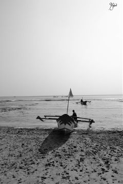 blackandwhite beach people photography travel