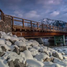 photography nature bridge canada alberta