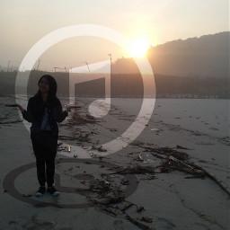 sunset summer shapemark emotions beach