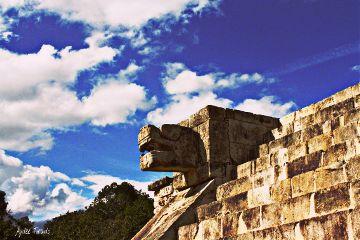 mexico architecture sky colorful vibrant