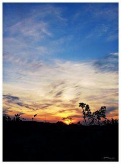 october sunset sky photography